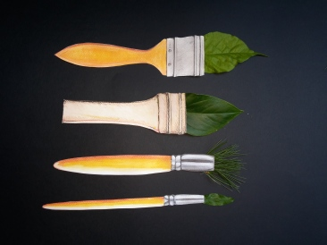 leafy bristles
